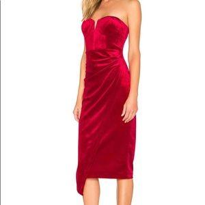 Anthro Yumi Kim Velvet Allure Dress